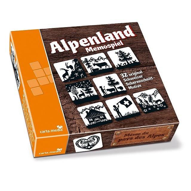 Memospiel Alpenland