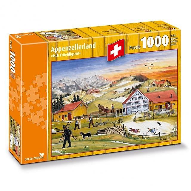 Puzzle Isch Früehligsziit