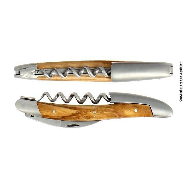 Sommelier-Messer Olivenholz