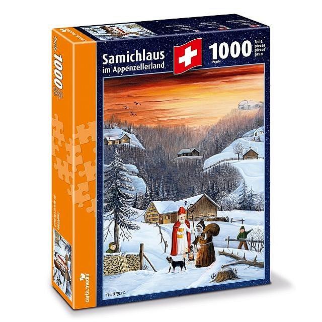 Puzzle Samichlaus im Appenzellerland