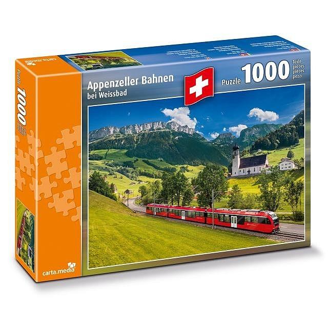 Puzzle Appenzellerbahnen bei Weissbad